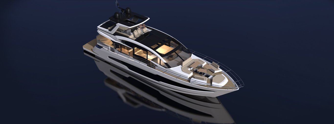 Galeon 700 Skydeck Project